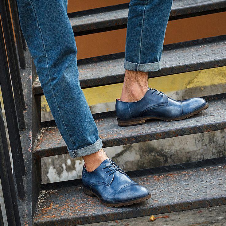 2017 Men Flat Superstar Promotion Vintage Retro Custom Mens Derby Shoes Fashion Luxury Lace Up Genuine Leather Original Design