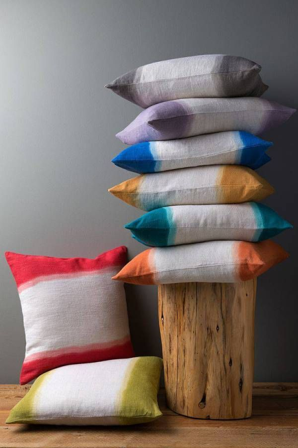 A little French, a little Indian - Ombre Cushions from Diti Vora