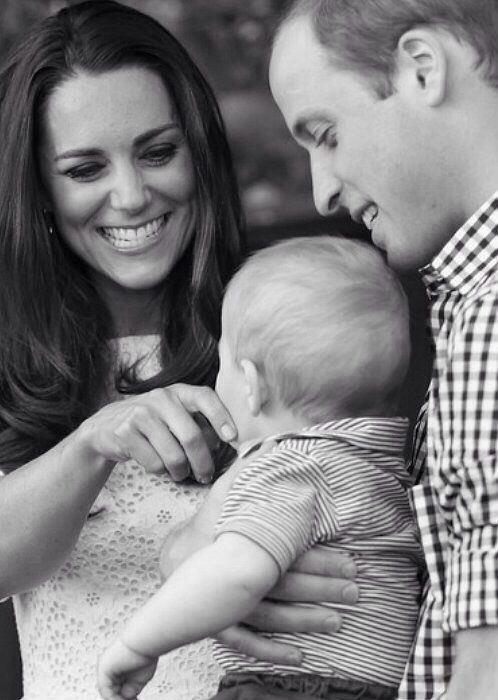 A mother's joy when she looks at her child. How cute is this royal candid? 1