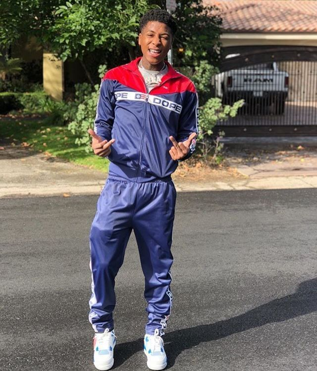 Nba Youngboy Wallpaper In 2020 Nba Baby Mens Outfits Tracksuit