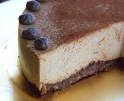 Cheesecake al caffeb al microonde