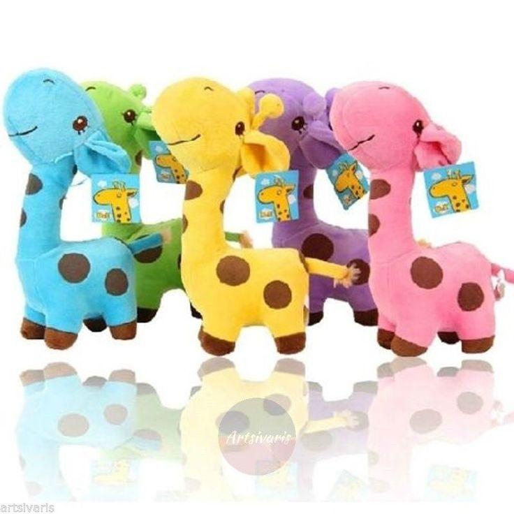 Giraffe Plush Toys Soft Cute Animal Doll Baby 2+ Kids Birthday Cristmas Gift | eBay