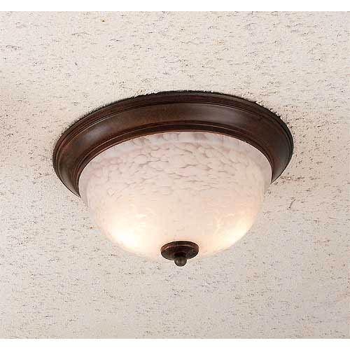 Hi Lite Mouchette Two Light Flush Mount Ceiling Light On SALE