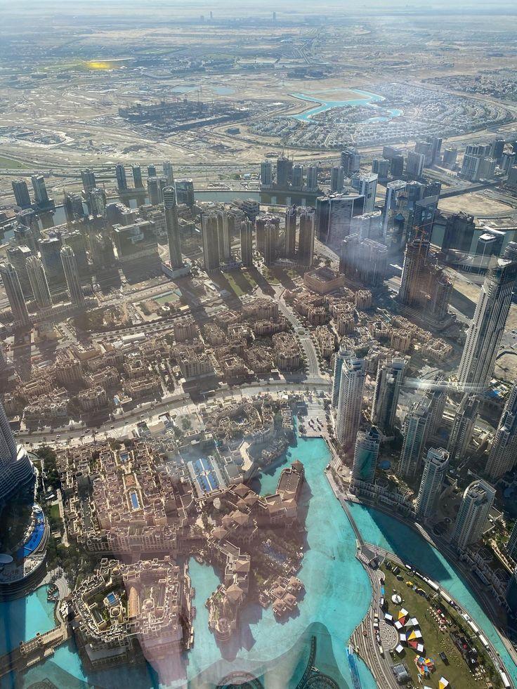 View from the Burj Khalifa in 2020 | Dubai tourism, Dubai ...