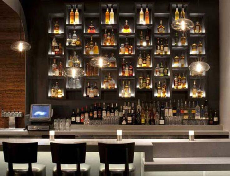 Bar shelves future bar ideas pinterest for Innendekoration restaurant