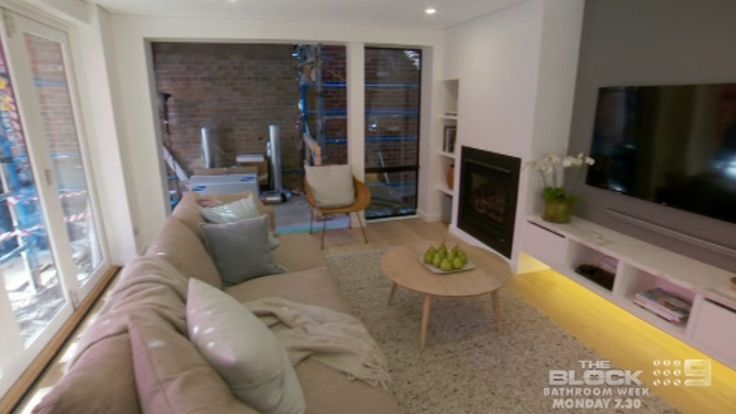Like can look at tv and fireplace