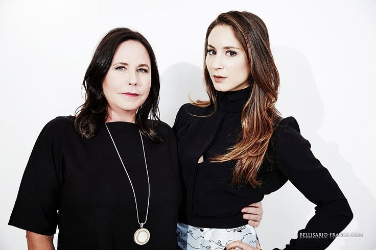 Marlene King and Troian Bellisario