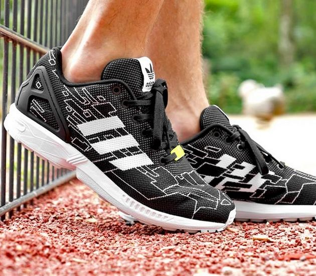Discount Expense Casual Black Yellow Unisex Adidas Zx Flux Running Shoes