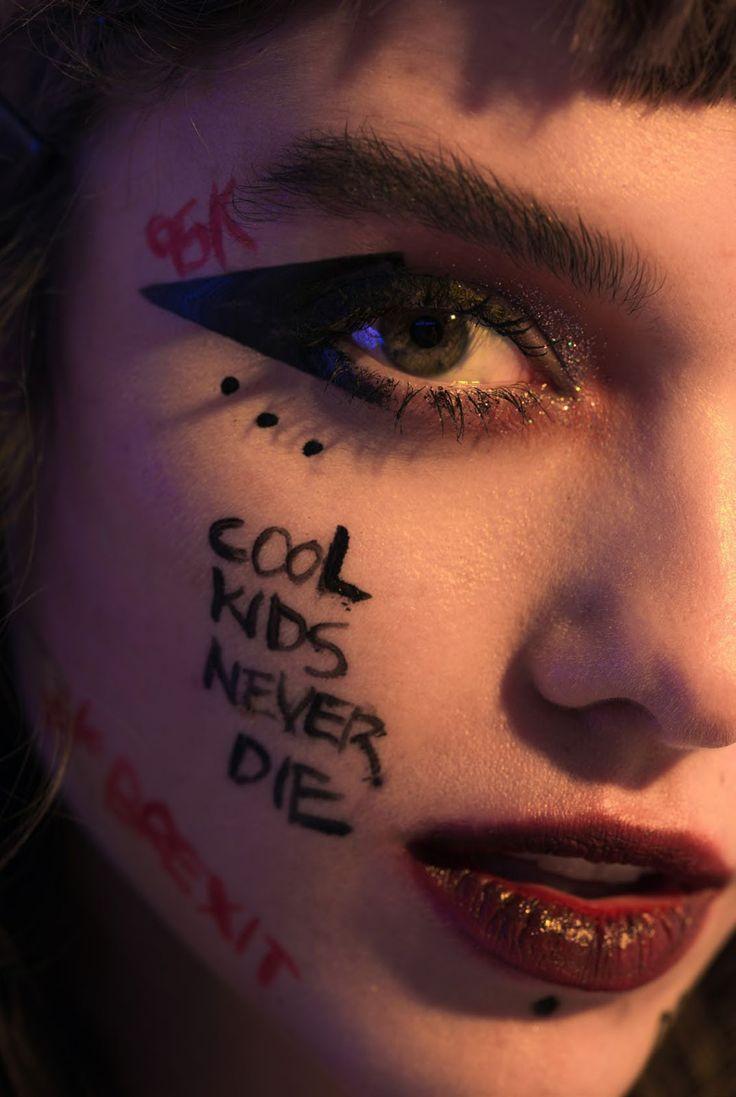 25+ best ideas about Punk makeup on Pinterest Punk rock - Punk Makeup