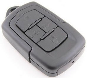 HD Night Vision Spy Cam Car Key delivers mind-blowing night vision on your key ring