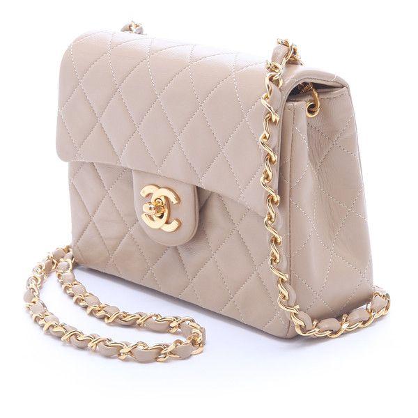 WGACA Vintage Vintage Chanel Mini Flap Bag ($2,450) ❤ liked on Polyvore
