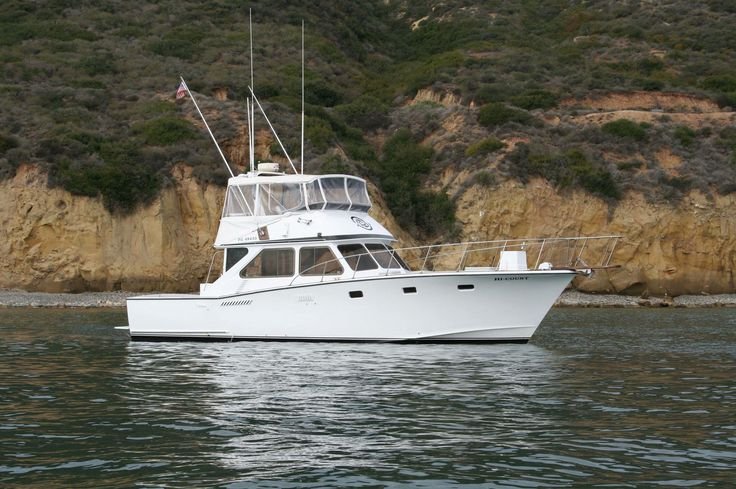 The HICOUNT is a custombuilt 44' Pacifica sportfisher in