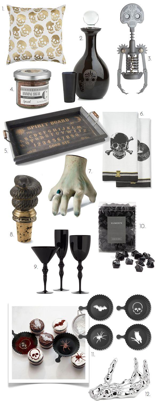95 best Black & Gold Halloween images on Pinterest