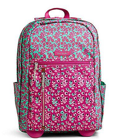Vera Bradley Lighten Up Rolling Backpack #Dillards