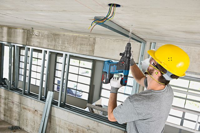 Bosch 18V SDS-Plus Brushless Rotary Hammer GBH18V-26  Bosch expands its line of excellent rotary hammers with the Bosch 18V SDS-Plus Brushless Rotary Hammer featuring a soft start and Kickback Control!  #bosch #rotaryhammer #cordless #masonry #concrete #powertools  https://www.protoolreviews.com/tools/power/cordless/rotary-hammers/bosch-18v-sds-plus-brushless-rotary-hammer-gbh18v-26/30166/