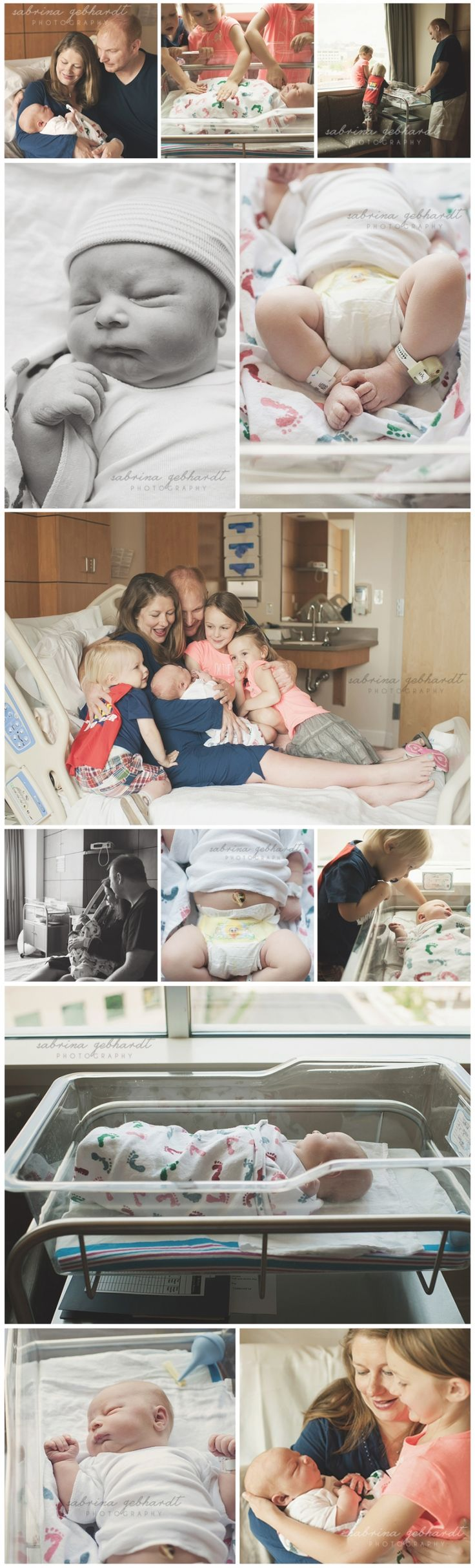 First 48 newborn session in hospital. Genuine moments of when baby is brand new.