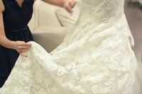 How to Make a Wedding Dress Bustle (6 Steps) | eHow