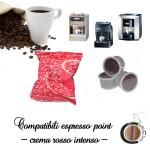 Cialde Crema Rosso Intenso Caffe on line Lavazza Point Compatibili
