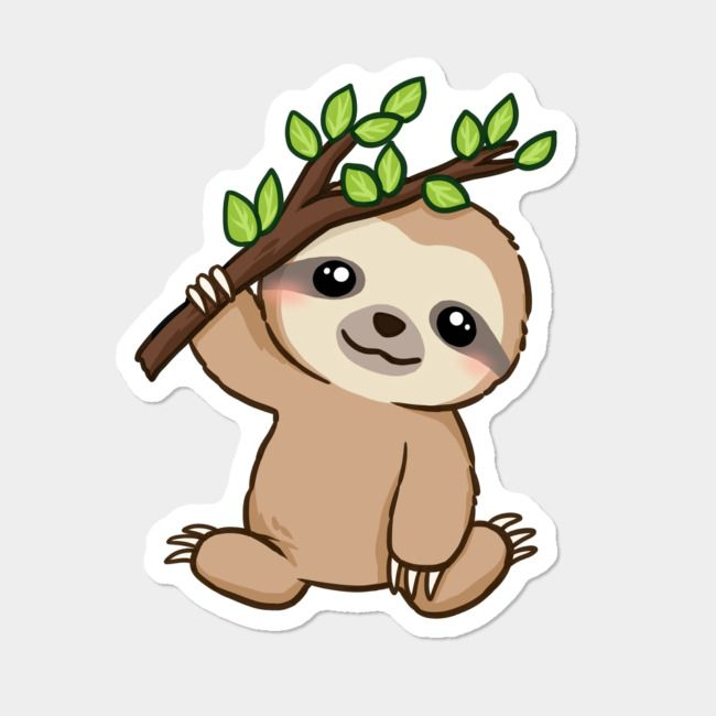 KAWAII baby sloth! Cute baby sloths, Baby sloth, Cute