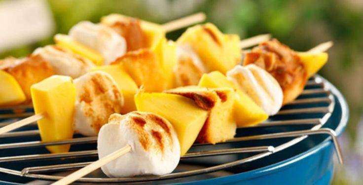 Dessertspidd på grillen