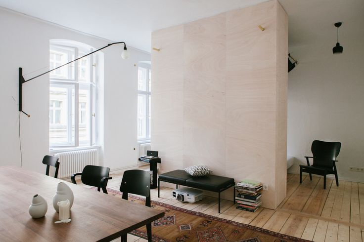 We are setting up the FvF Apartment, it's starting to look cosy.