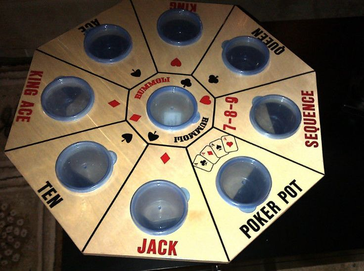Make Tripoley board like this, with removable bowls (still on turntable).