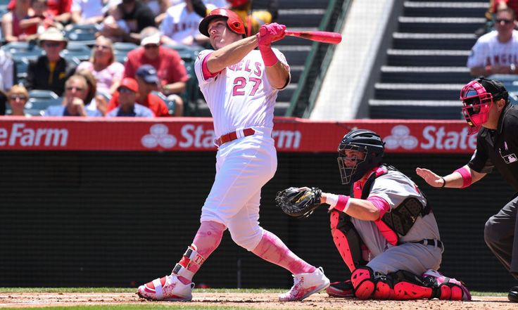 Mike Trout youngest to reach 150 homers and 150 stolen bases = Los Angeles Angels superstar Mike Trout has become the youngest player in MLB history to reach 150 home runs and 150 stolen bases, according to ESPN Stats & Info. Prior to Trout, the youngest player to…..