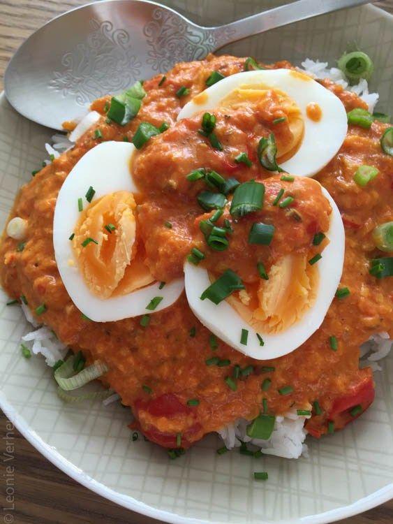 Super lekkere vegetarische curry