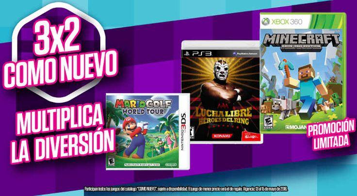 Gamers 3x2 en juegos para Xbox One, PS4, Xbox 360, PS3, Wii U
