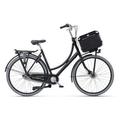 Rower miejski damski Batavus DIVA CARGO SA5. Elegancja, praktyczność oraz wyjątkowość dla kobiet lubiących styl. http://damelo.pl/damskie-rowery-miejskie-stylowe/353-diva-cargo.html