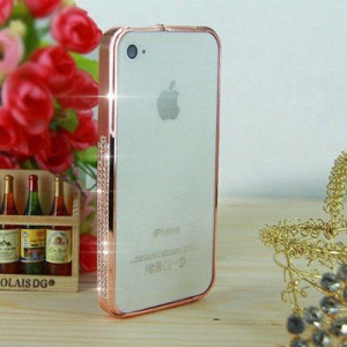 Бампер для iPhone 4/4S металлический с камнями Swarovski. Вы можете купить всего за 《 420.00грн 》Дешевле не найдете! Заходите только в интернет-магазине ✯IPM✯ с самой быстрой доставкой по Киеву и Украине. Качество превыше всего !
