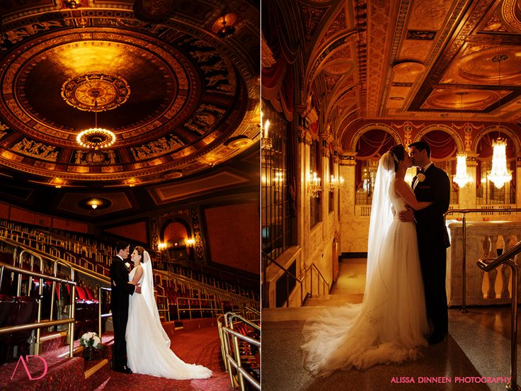 Winter Wedding Waterbury Country Club Palace Theater
