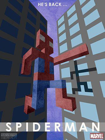 Seven's Heaven - Design - Graphic design - Spiderman