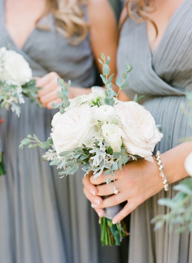 Classic Lowndes Grove Plantation Wedding | Bridesmaids Bouquet | More on SMP: http://www.StyleMePretty.com/2014/02/18/classic-lowndes-grove-plantation-wedding/ Buffy Dekmar Photography