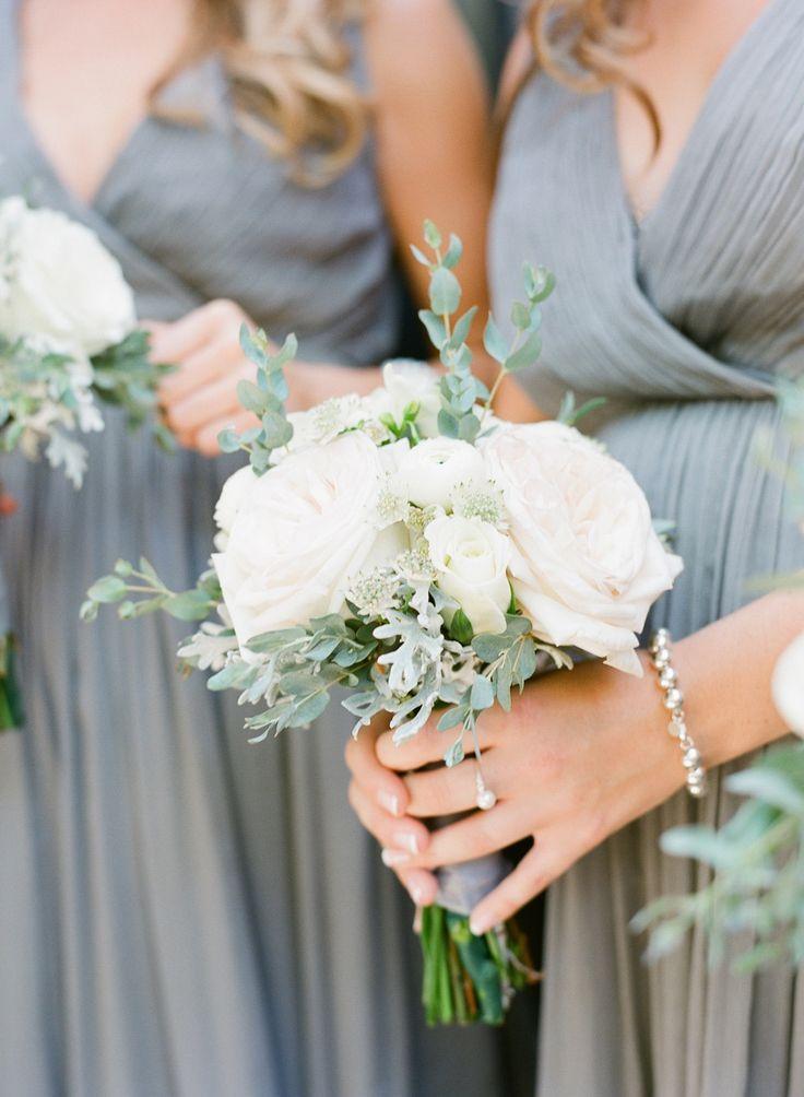 Classic Lowndes Grove Plantation Wedding | Bridesmaids Bouquet | More on SMP: http://www.StyleMePretty.com/2014/02/18/classic-lowndes-grove-plantation-wedding/ Buffy Dekmar Photography