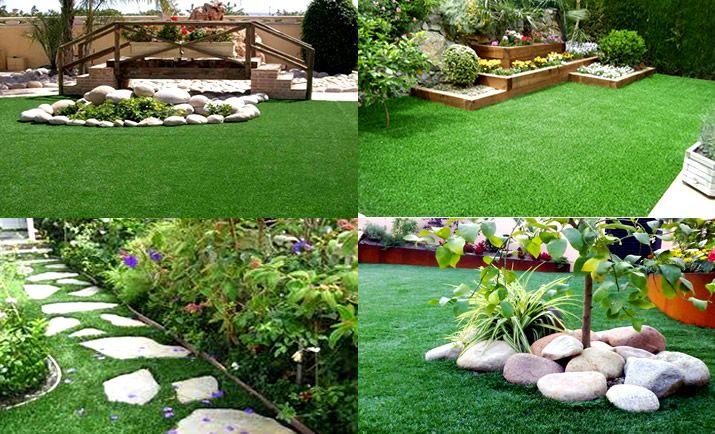 Jardines grass sintetico
