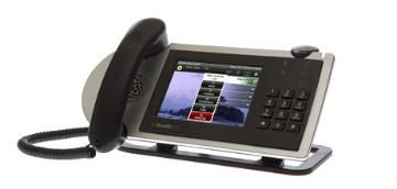 ShoreTel IP Phone 655  ShoreTel's most advanced telephone, the IP 655 provides 12-line appearances, a large backlit touch color display and haptic (vibrational) feedback.  Advanced microphone technology delivers superb speakerphone capability for offices and small and midsize conference rooms when used with the optional extension microphone accessories.