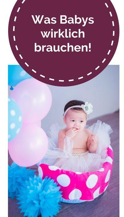 Was Babys wirklich brauchen und was total unnötig ist... #mamablogger #mamablogger_de #elternblog #family
