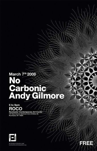 SHOW POSTERS : :::::::::::::::::::::::::::::: #poster #andy gilmore