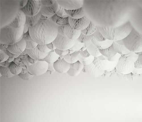 beautiful wallpaper clouds from Bolia