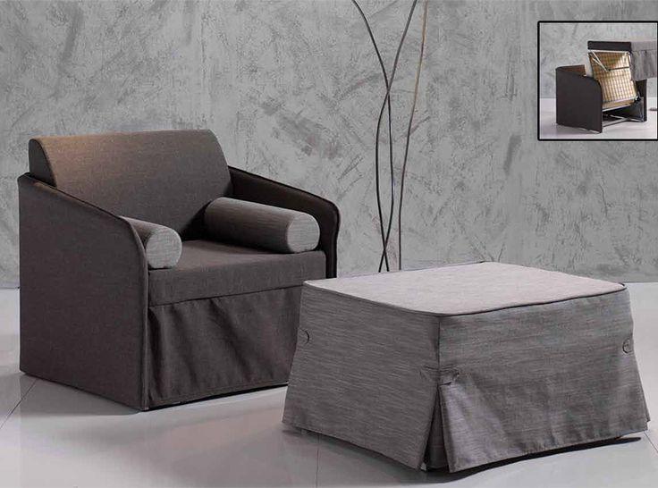 Modern Sleeper Chair Elsa by Vitarelax, Italy - $1,049.00