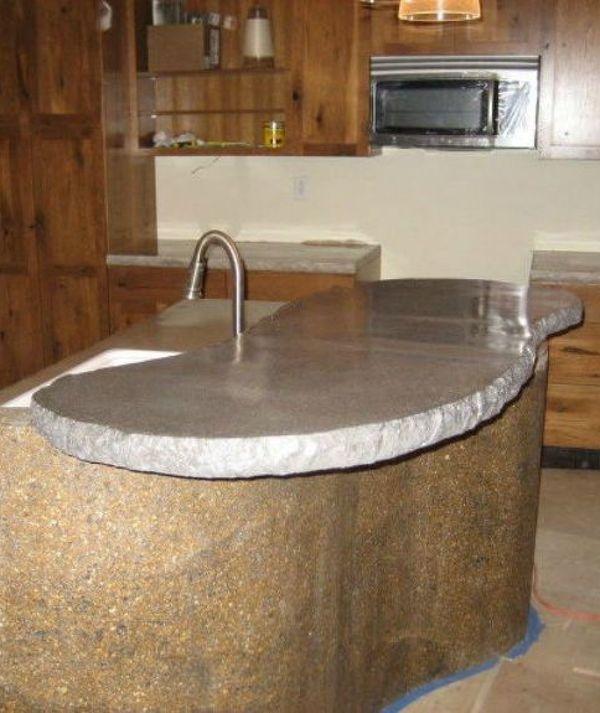 Styling Kitchen Counters: Best 25+ Concrete Kitchen Countertops Ideas On Pinterest