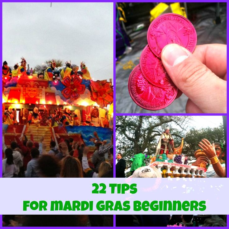 Everything you need to know before your first Mardi Gras season in New Orleans. #neworleans
