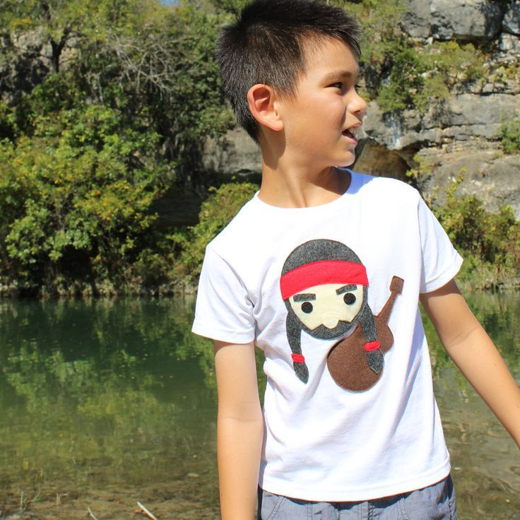 Kids T-shirt - Willie the Music Man by micielomicielo on Etsy