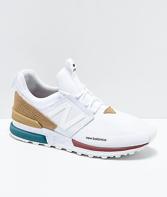 7068414ee5 Image result for new balance 574 sport white