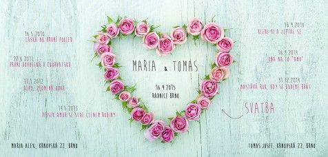 Svatební oznámení 134