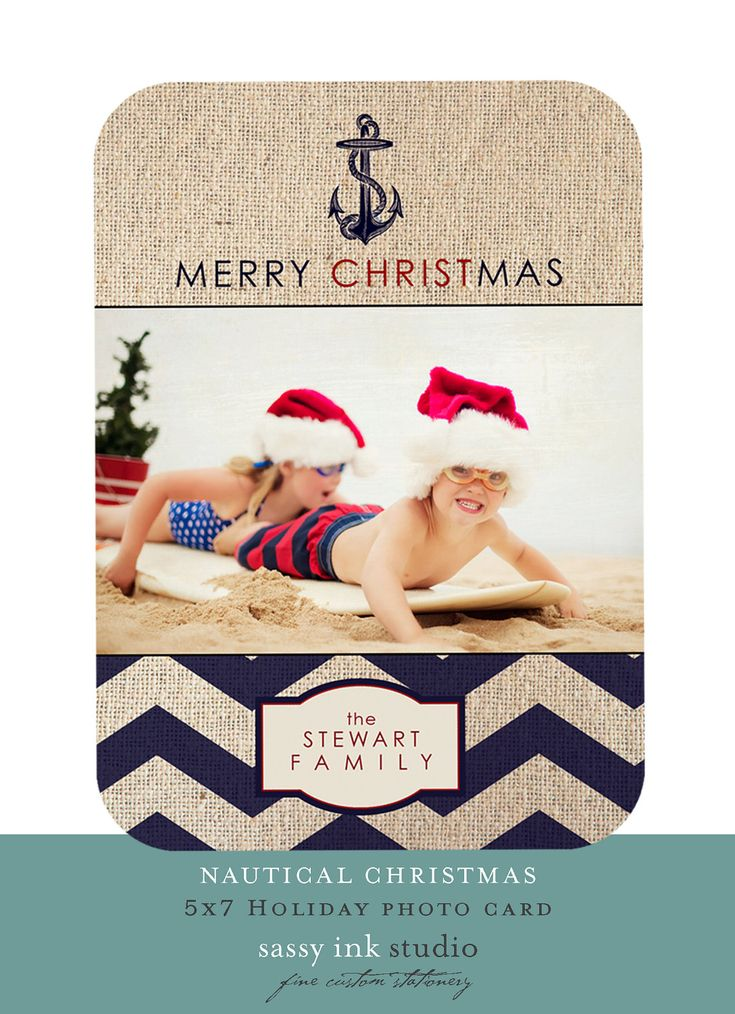 11 best Cards - Nautical Christmas images on Pinterest | Nautical ...
