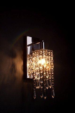 arandela de cristal - lustre sala - Mercado Livre $159