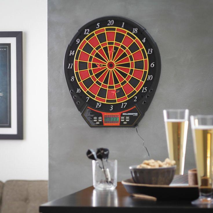 Bullshooter by Arachnid Voyager Electronic Dart Board and Darts Set - EDB400