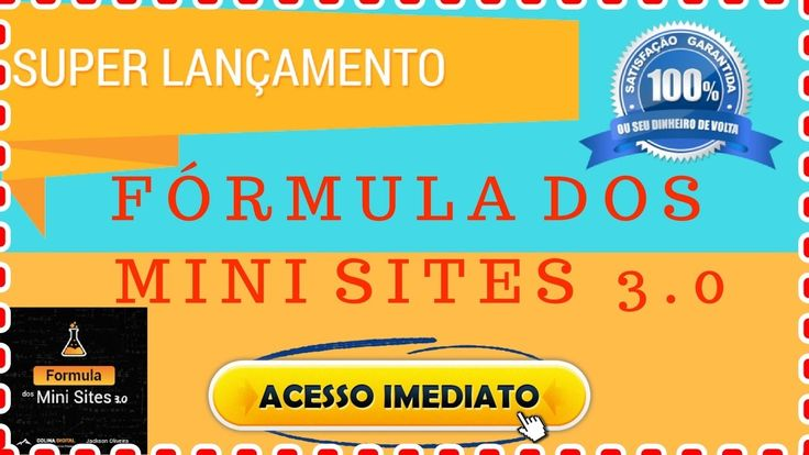 Como Criar Mini Sites - Fórmula Dos Mini Sites 3.0 - Como Ganhar Dinheir...